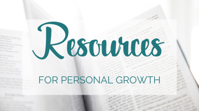 Resources for Personal Growth